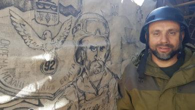 Photo of Воинственный Тарас Шевченко: на Донбассе боец продемонстрировал талант художника