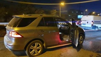 Photo of В Днепре на набережной обстреляли Mercedes: погиб водитель