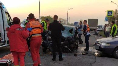 Photo of В Днепре на Полтавском шоссе столкнулись четыре авто: погиб мужчина