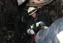 Photo of В Днепре горел цех по производству металлоконструкций