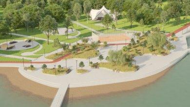 Photo of В Киеве возле озера Лебединое появится фитнес-парк