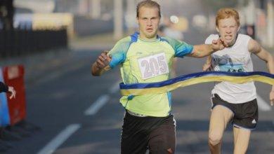 Photo of В Днепре спортсмены пробежали «Милю мира»