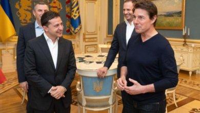 Photo of Том Круз обсудил с Зеленским съемку фильма в Украине