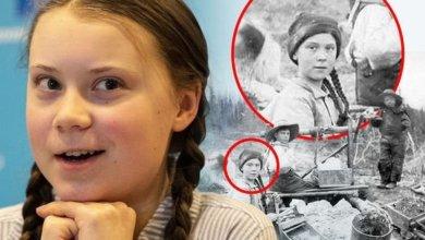 Photo of Грету Тунберг нашли на снимке 120-летней давности