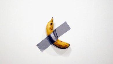Photo of В США банан со скотчем продали за $ 120 000