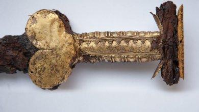 Photo of В Украине нашли скифский меч, которому 2 500 лет