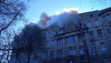 Photo of Стало известно, когда возобновят учёбу студенты сгоревшего одесского колледжа